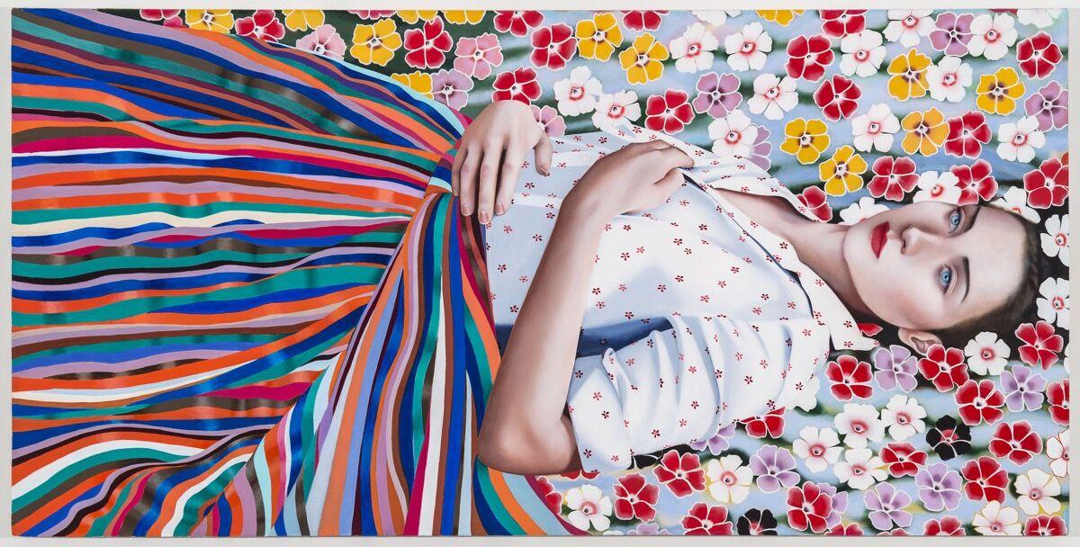 Jocelyn Hobbie, Chimes, 2016. © Jocelyn Hobbie. Courtesy of Fredericks & Freiser, NY.