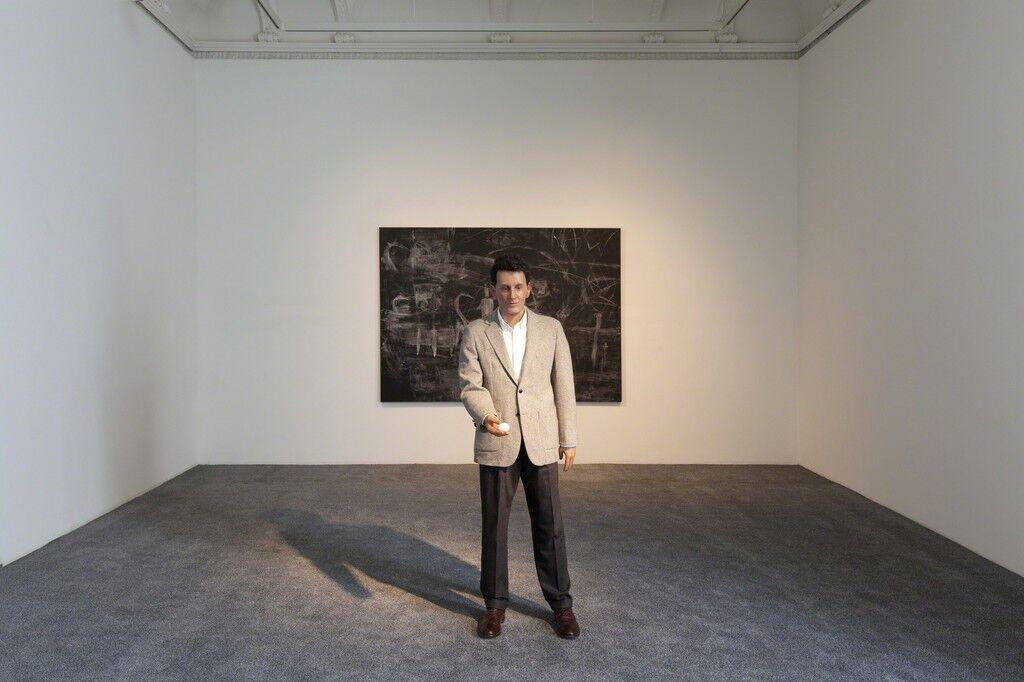 """Installation view,""""A Vision,""""at Galerie Krinzinger, Vienna. Courtesy Galerie Krinzinger."""