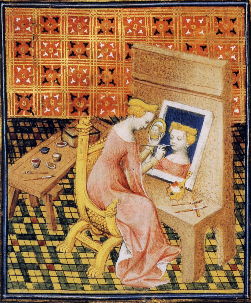 15th century illustration from Giovanni Boccaccio's De Mulieribus Claris. Photo via Wikimedia Commons.