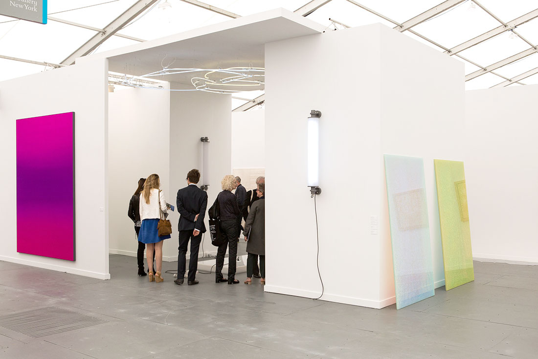 Photo of Esther Schipper's booth at Frieze New York 2015 by Marco Scozzaro. Courtesy of Marco Scozzaro/Frieze