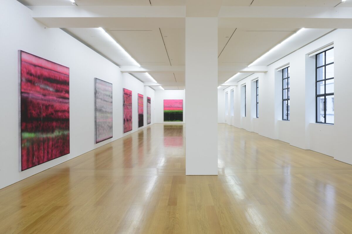 """Sterling Ruby: VIVIDS"" at Gagosian Gallery, Hong Kong. Photos by Calvin Sit. © Sterling Ruby Studio, Courtesy Sterling Ruby Studio and Gagosian Gallery"
