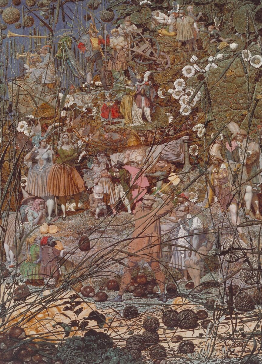Richard Dadd, The Fairy Feller's Master-Stroke, 1855–64. Image via Wikimedia Commons.