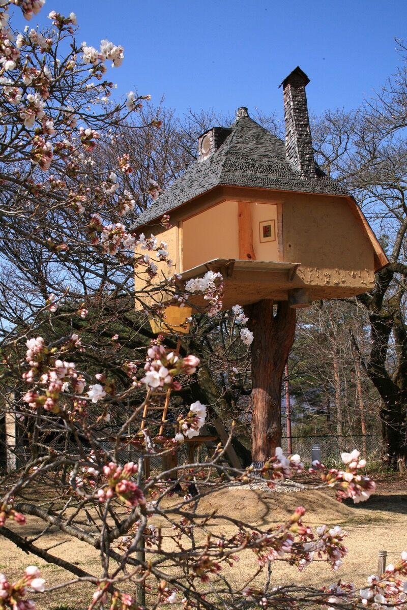Exterior, Teahouse Tetsu by Terunobu Fujimori. Photo by Dana + LeRoy, via Flickr.