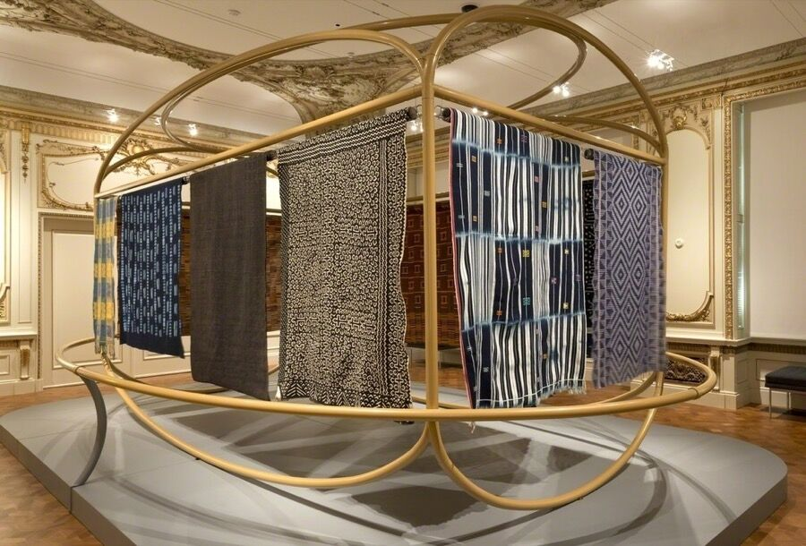 "Installation view of ""David Adjaye Selects."" Courtesy of Cooper Hewitt."