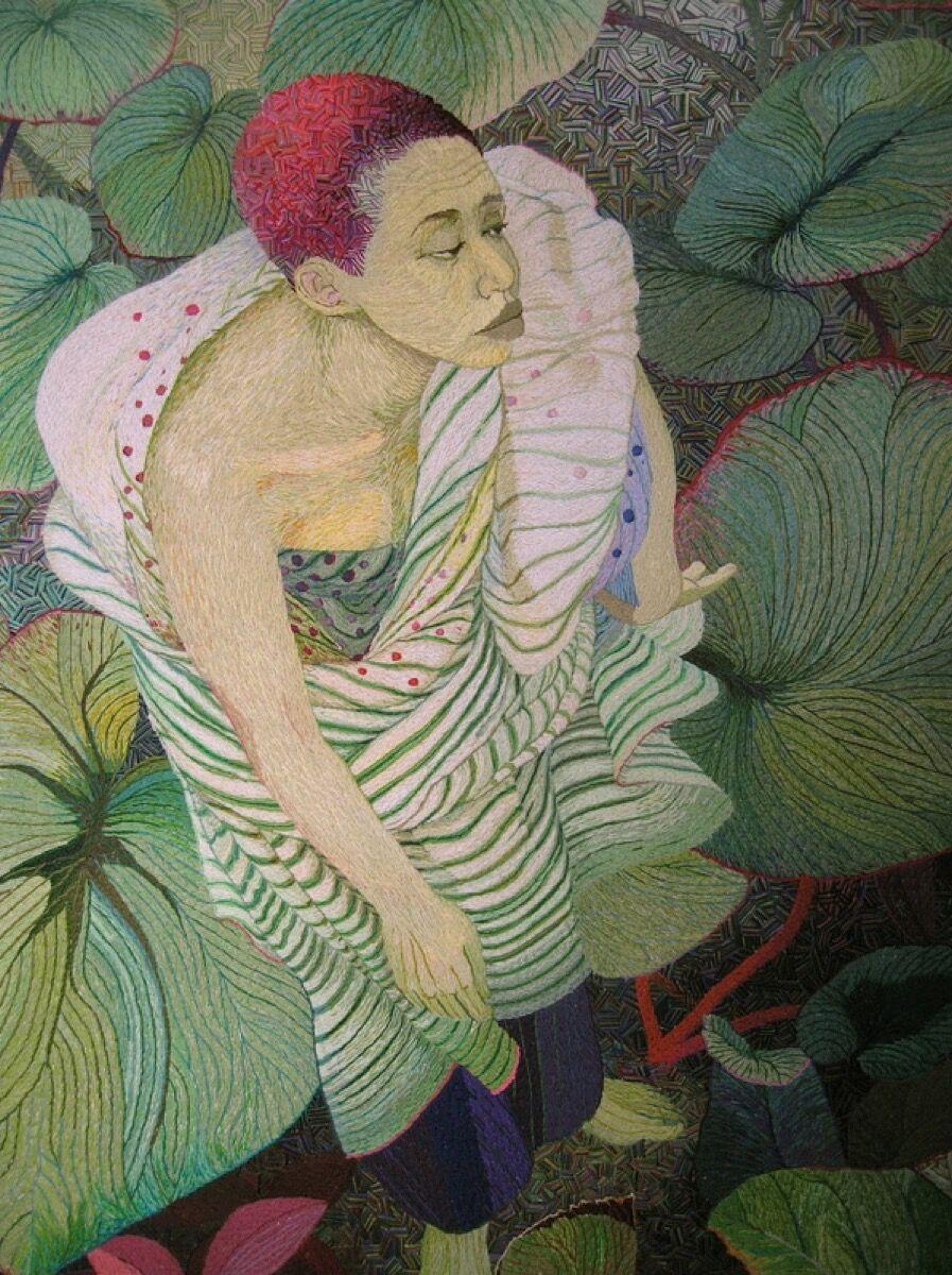 Ruth Miller, Flower. Courtesy of the artist.