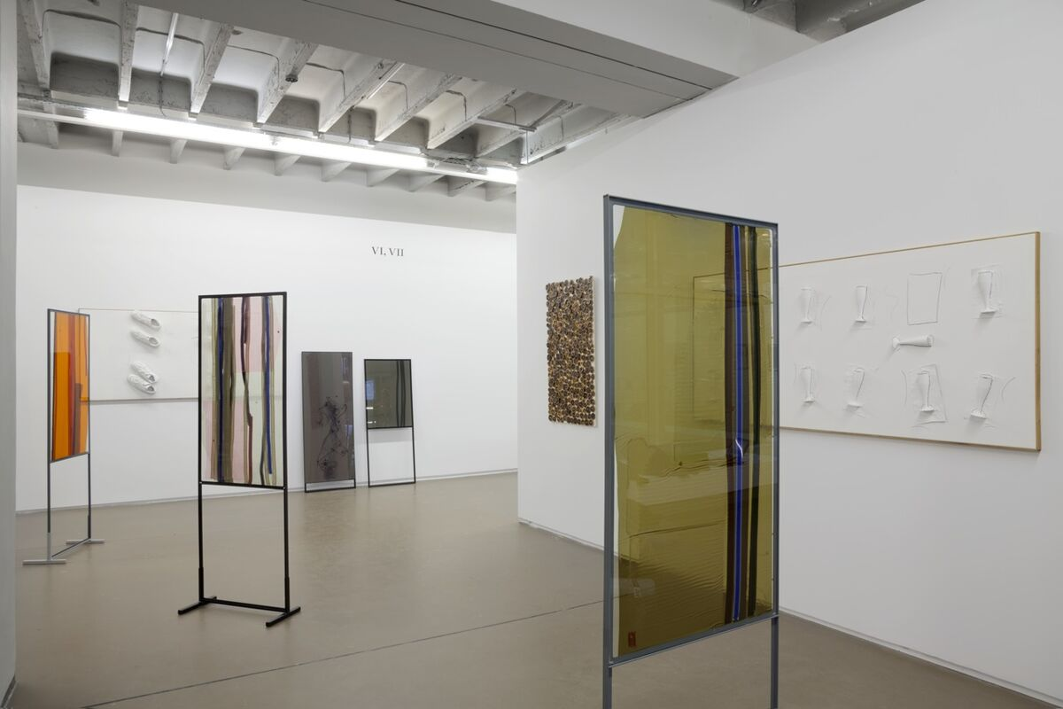 Installation view of VI, VII's booth at Independent Brussels, 2016. Photo courtesy of VI, VII.