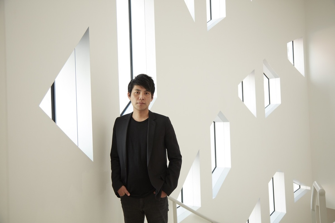 Portrait of Shohei Shigematsu by Bruce Damonte. Courtesy of OMA.