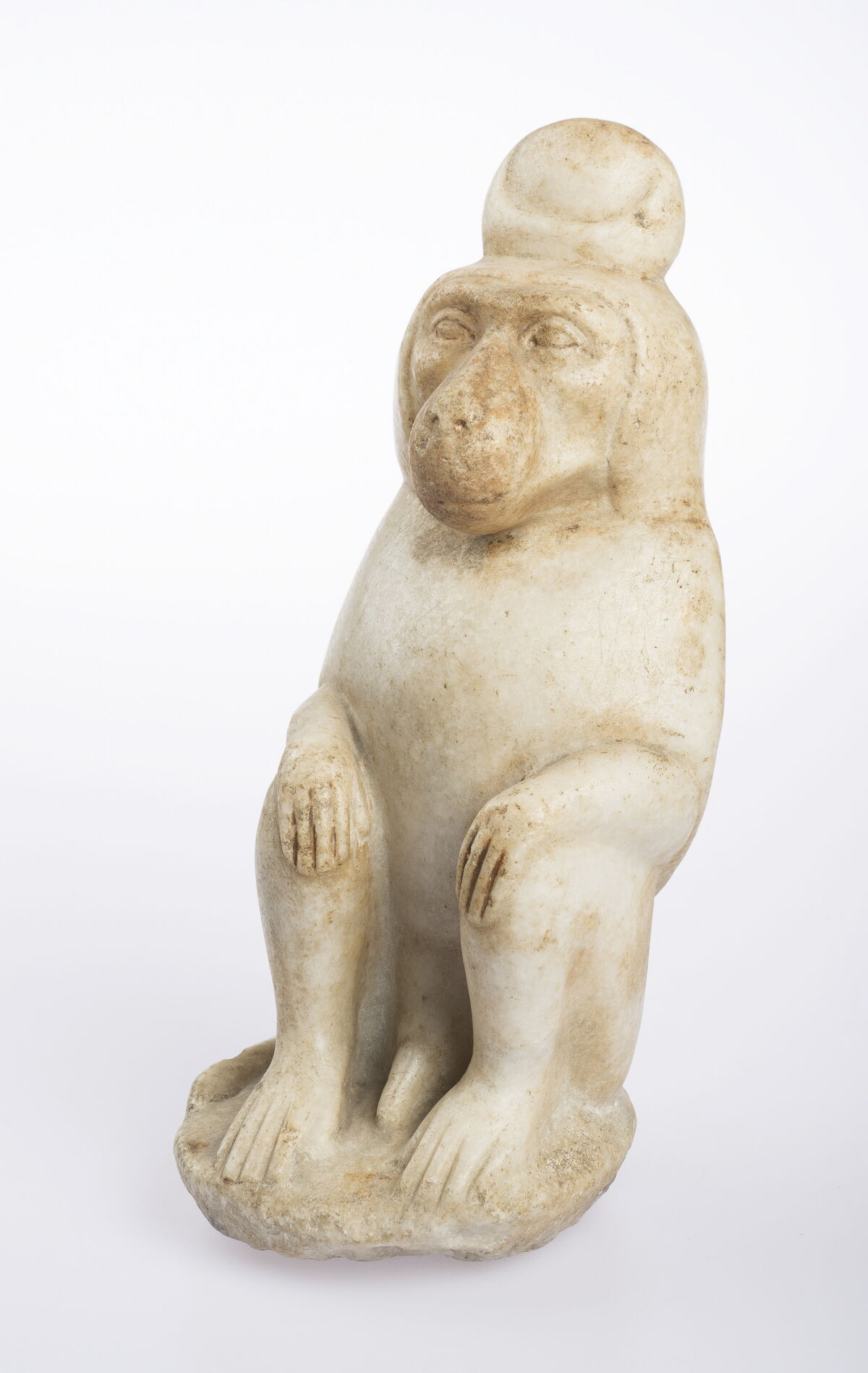 Statuette of the God Thoth in Baboon Form Egypt, Roman Period, 1st century BCE – 4th century CE. Photo by Ardon Bar-Hama. Courtesy of the Freud Museum London.
