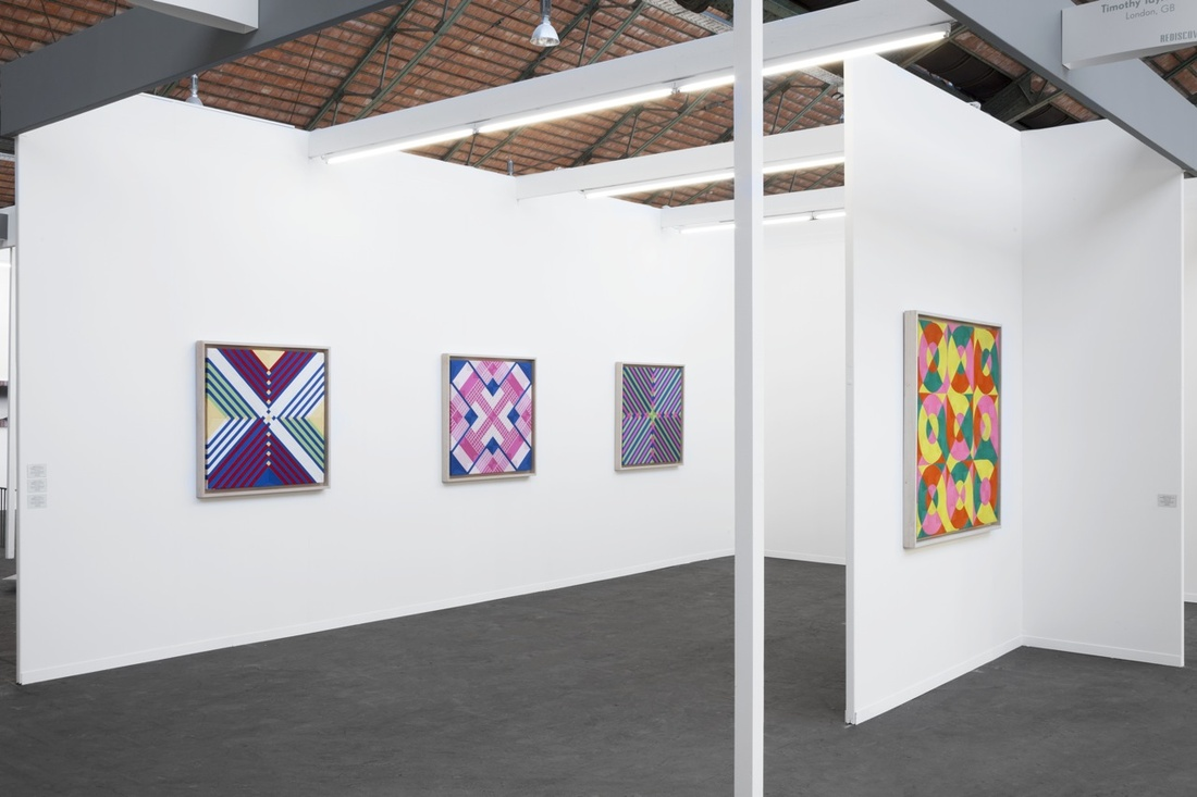 Installation view of Timothy Taylor's booth at Art Brussels, 2016. Photo courtesy of Timothy Taylor.