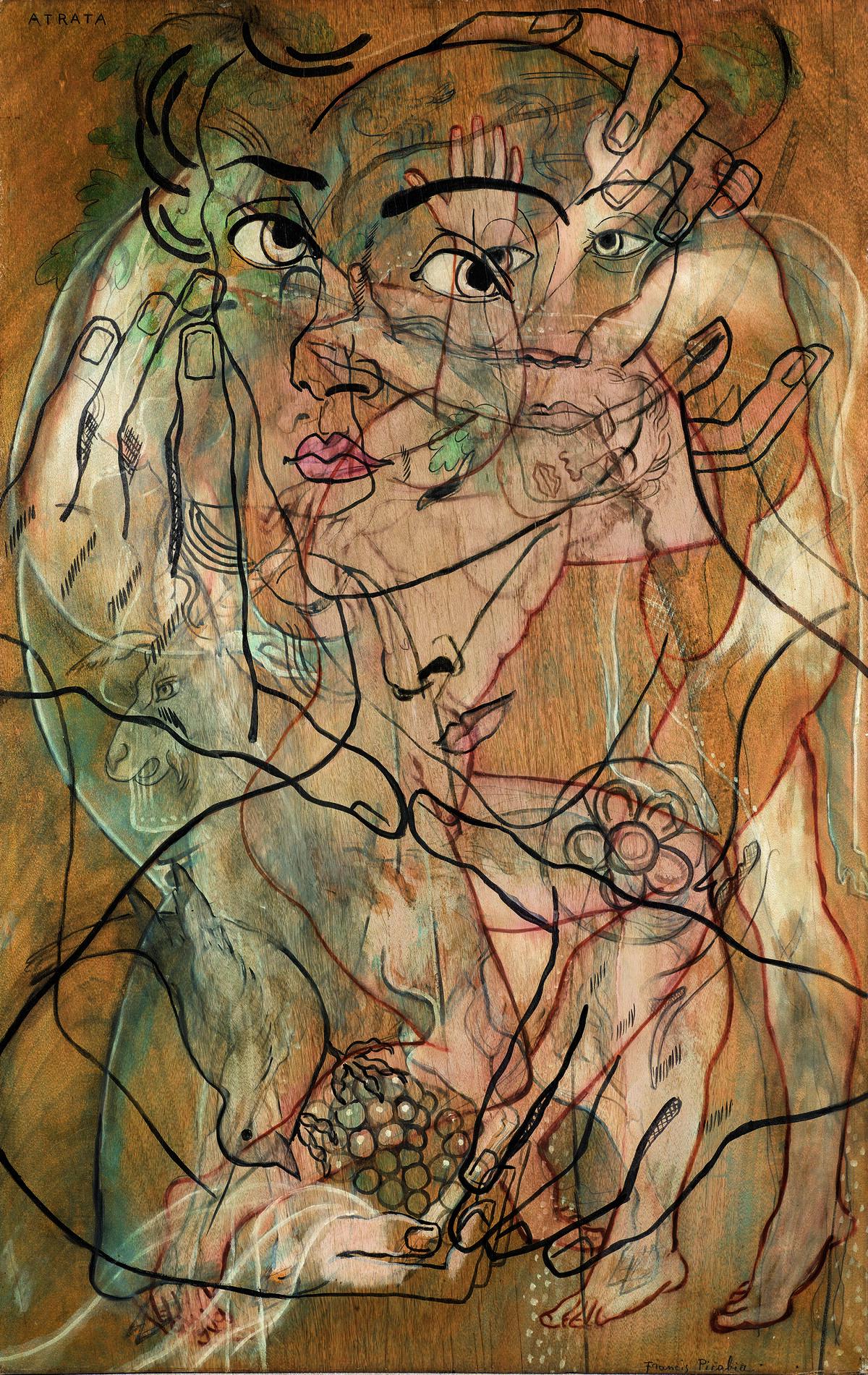 Francis Picabia, Atrata, 1929. Courtesy of Sotheby's.