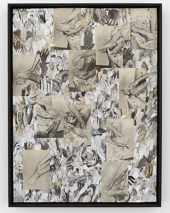 Carmen Winant, Looking Forward To Being Attacked, 2016. Image courtesy of Kate Werble Gallery and the artist.