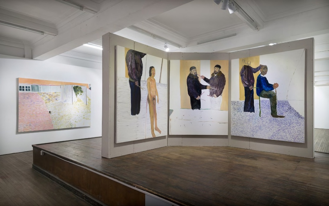 Installation view of work by Zheng Haozhong. Courtesy of BANK, Shanghai.