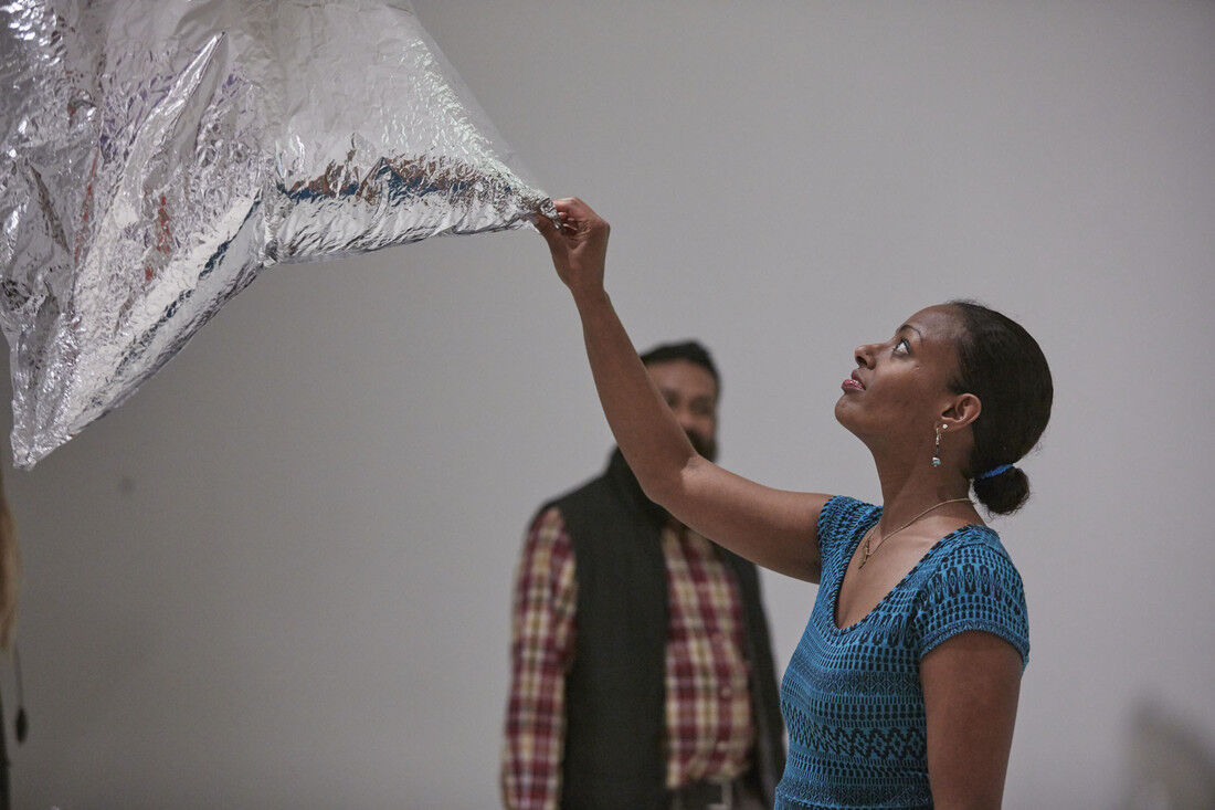 A gallery tour from Mn Artists Presents: Marcus Young. Photo by Gene Pittman. Courtesy of Walker Art Center.