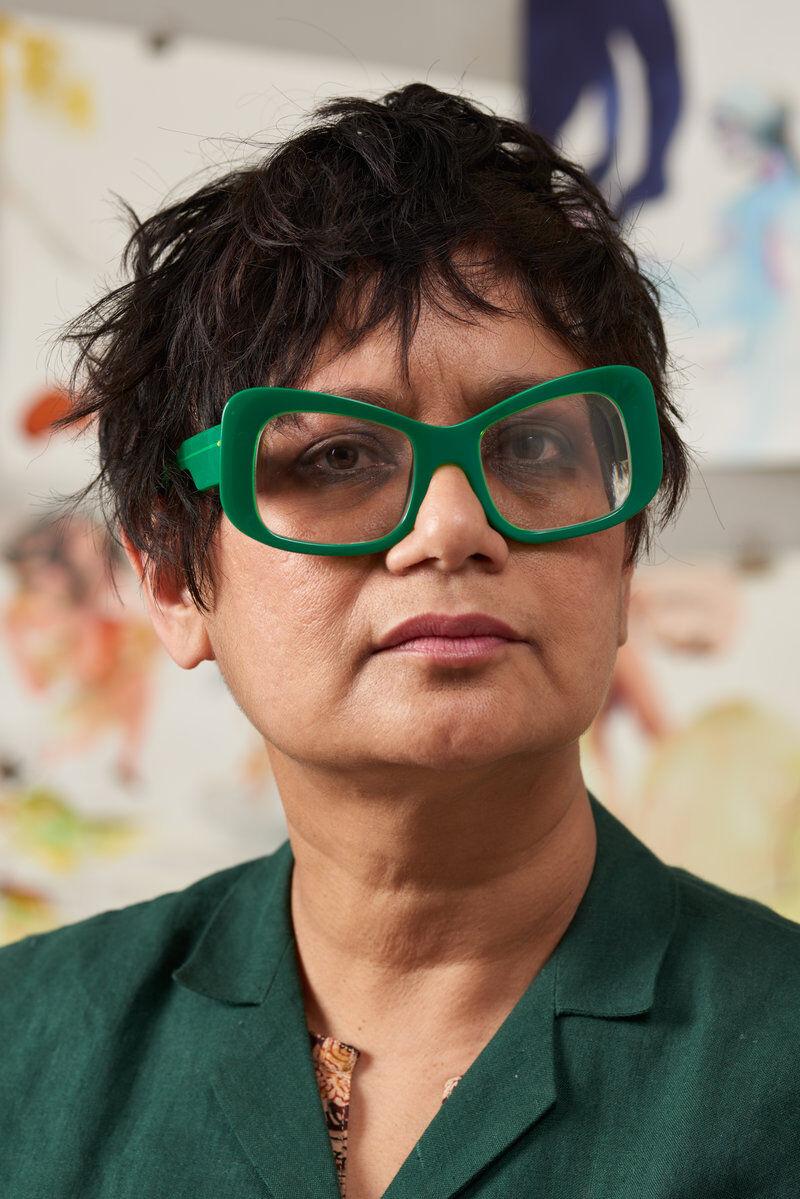 Rina Banerjee.Photo courtesy Jacob Lewis Gallery.