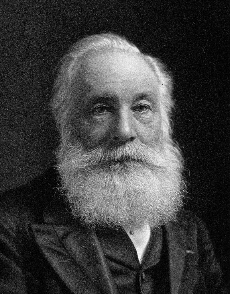 Portrait of William Henry Perkin, 1906. Image via Wikimedia Commons.