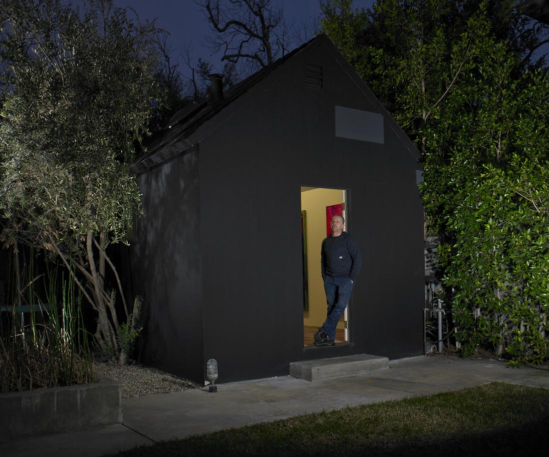 Danny First of The Cabin LA. Photo by Naomi Harris, courtesy of The Cabin LA.