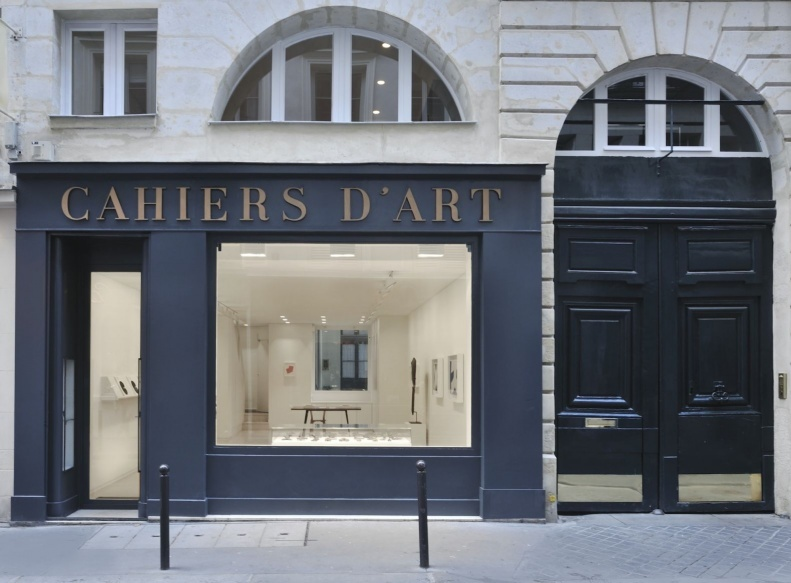 Cahiers d'Art, 14 Rue du Dragon, Paris. Courtesy Cahiers d'Art.