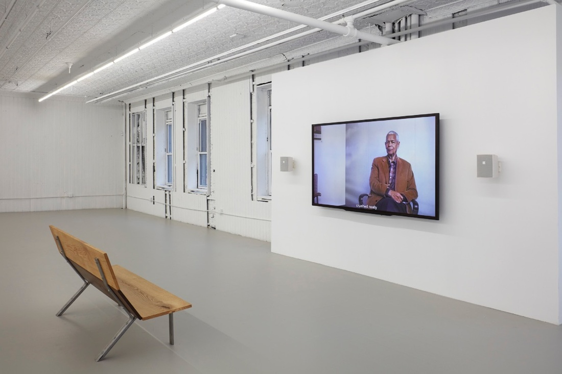 Installation view of Danny Lyon at Gavin Brown's enterprise. Photo courtesy of the gallery.