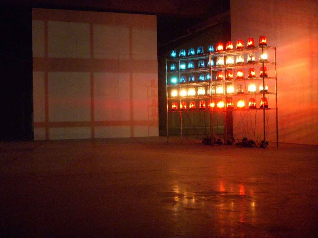 Blake Fall-Conroy, Police Flags, 2009. Courtesy of the Museum of Capitalism.