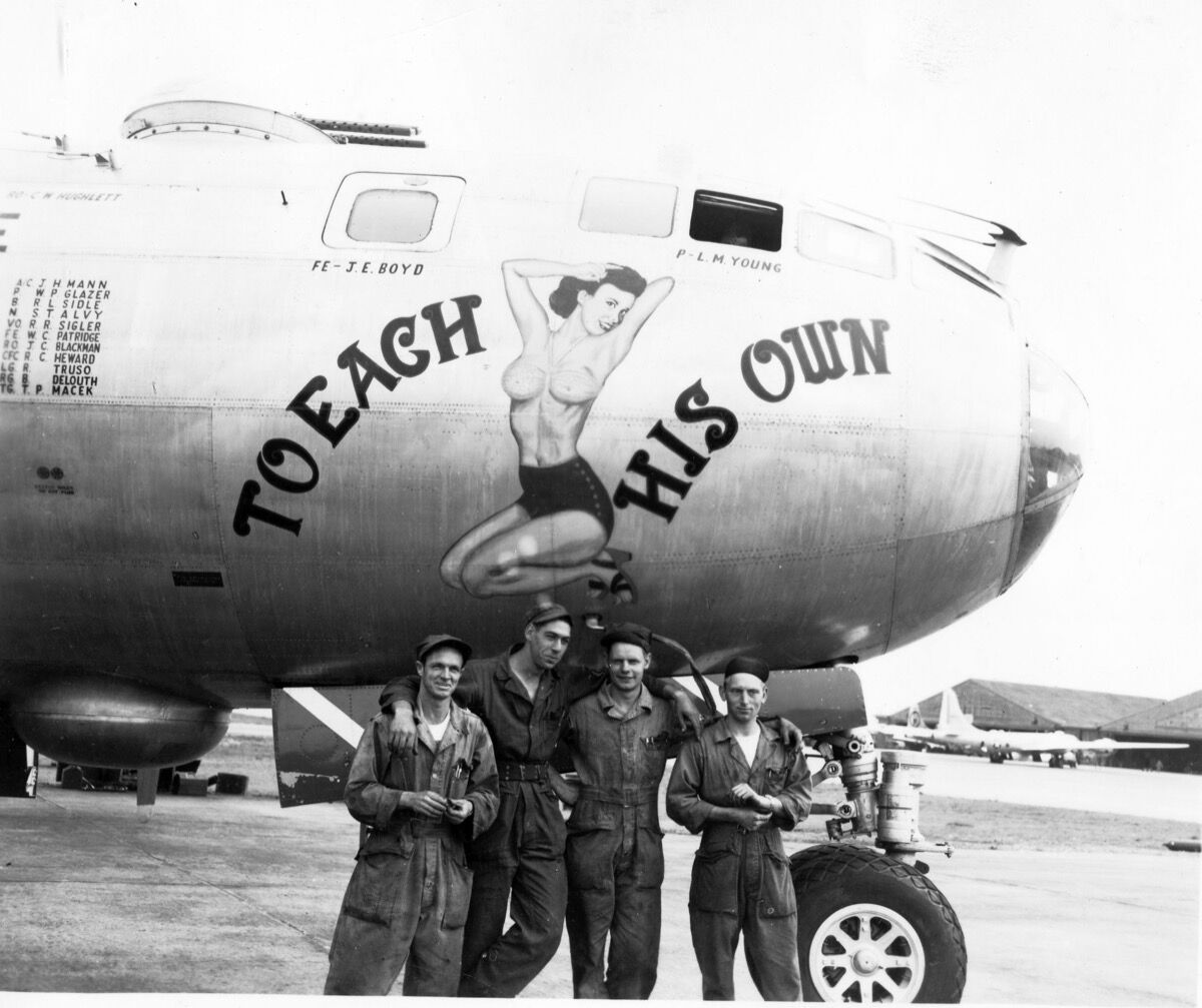 Boeing B-29A, 44-62207, To Each His Own, 98th BW, 344th BS. Photo via San Diego Air & Space Museum.