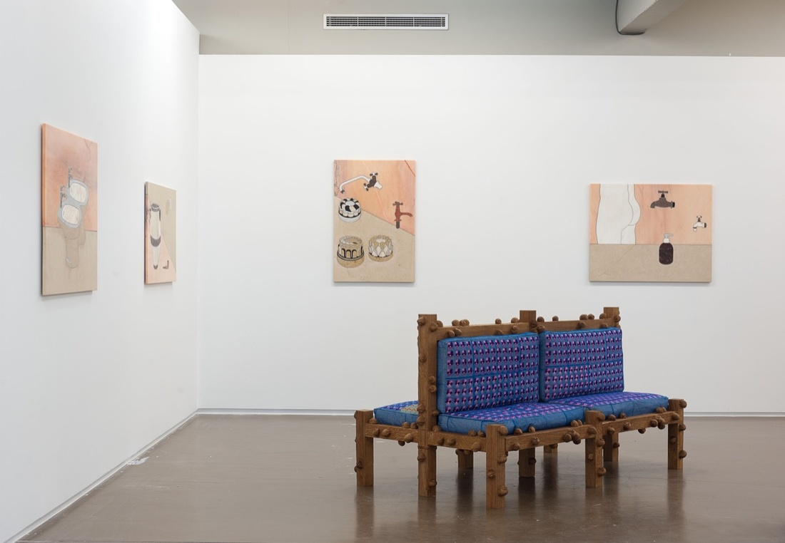 Installation view of Jan Kaps's booth at Independent Brussels, 2017. Courtesy of Jan Kaps.