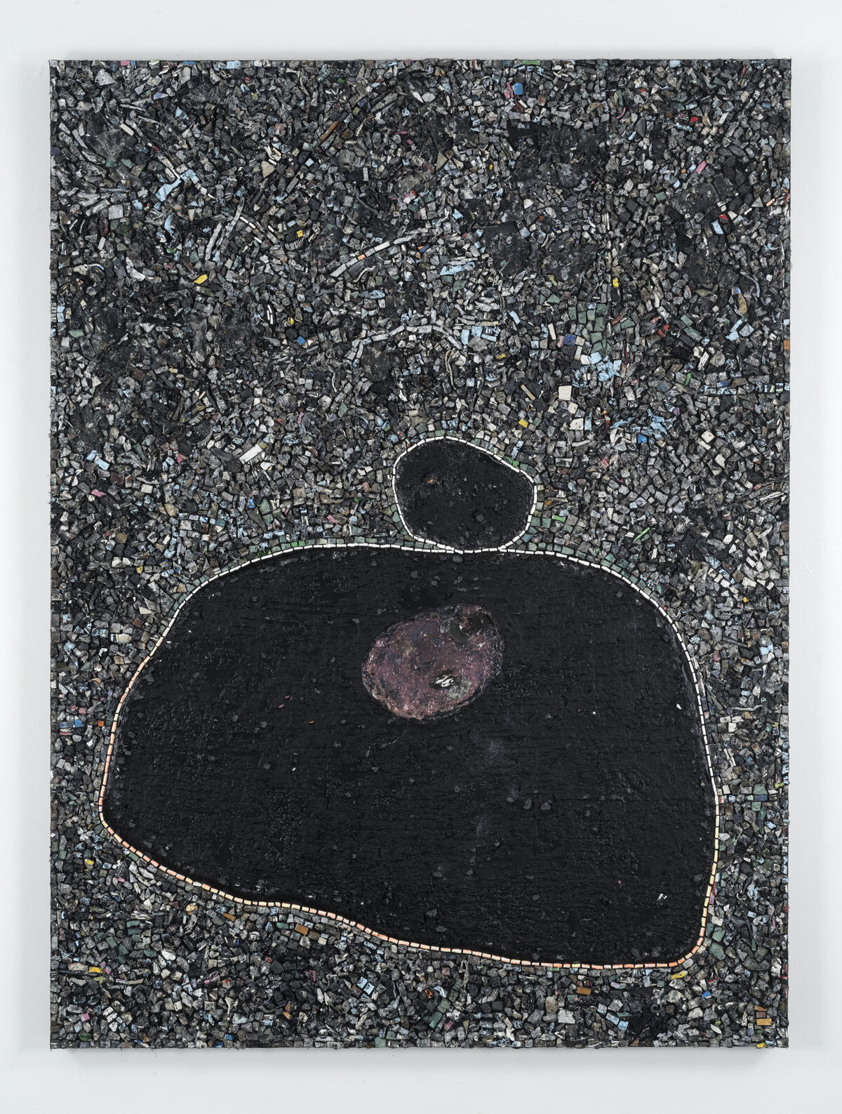 Jack Whitten, Black Monolith X, Birth of Muhammad Ali, 2016. Photo by John Berens. Courtesy of the Joyner/Giuffrida Collection and Hauser & Wirth.