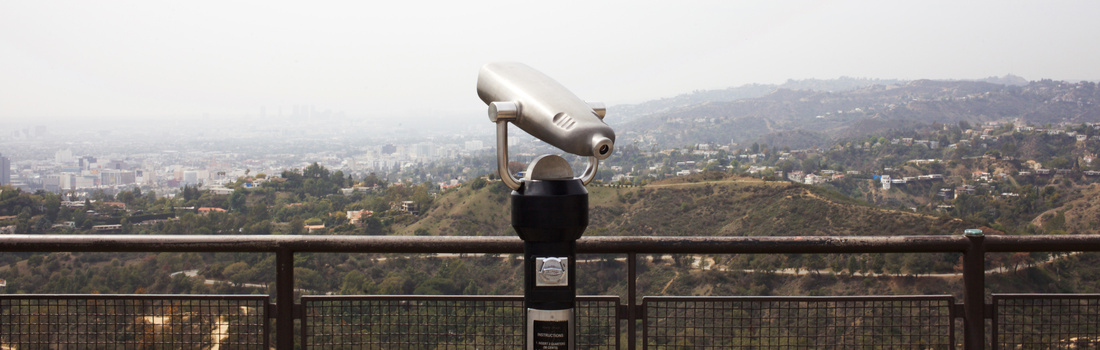 View from the Griffith Observatory. Photo by Emily Johnston.