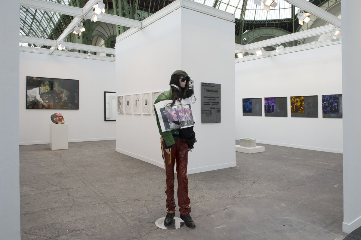 Installation view of Hauser & Wirth 's booth at FIAC, 2015. Photo by Marc Domage, courtesy FIAC and Hauser & Wirth.