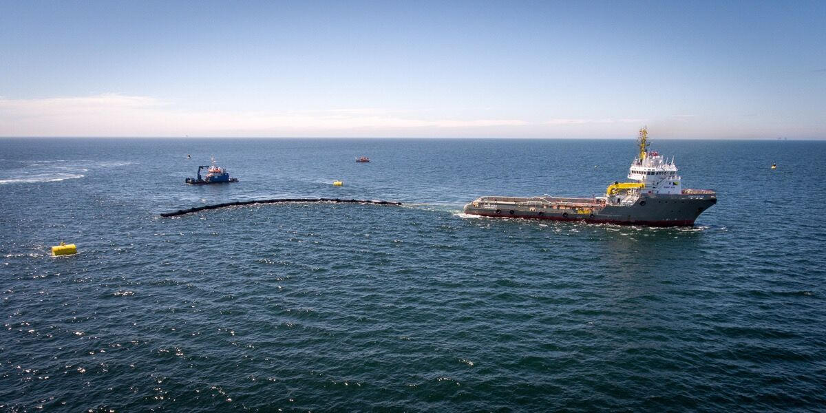 Photo courtesy of The Ocean Cleanup.