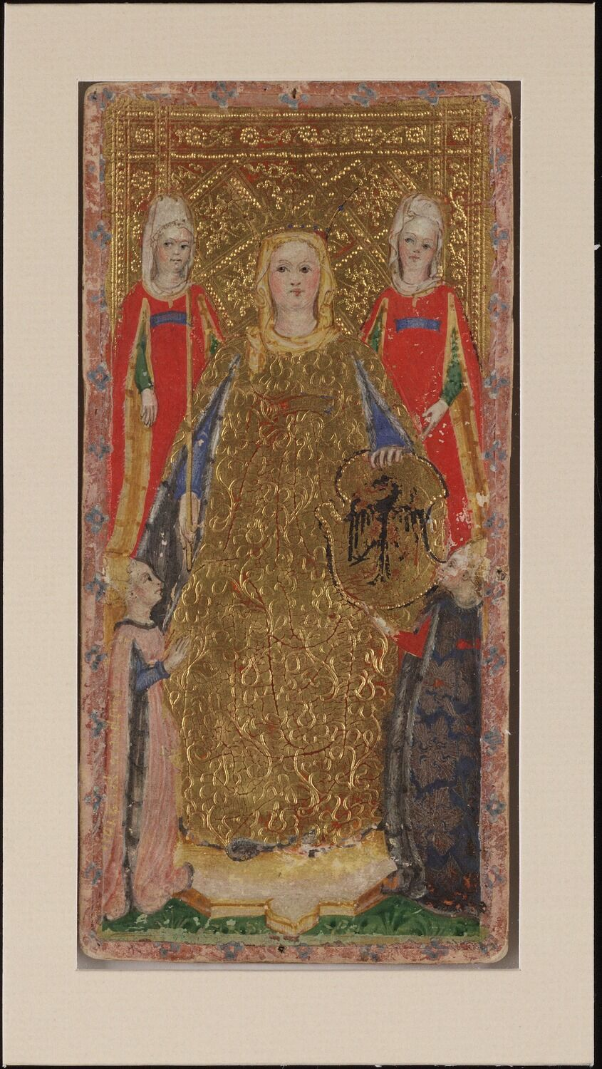Bembo Bonifacio, Empress of Swords, 1428-1447. Visconti Tarot from the Cary Collection of Playing Cards. Courtesy of the Beinecke Rare Book & Manuscript Library at Yale University.
