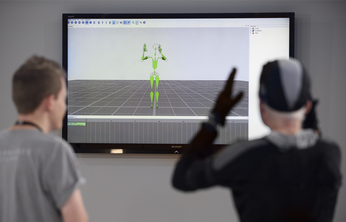 Installation view of Ed Atkins's Performance Capture. Photo: Joel Chester Fildes.