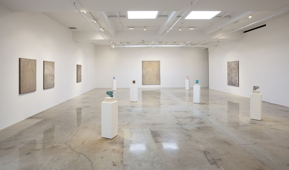 "Installation view of ""Solid State."" Courtesy Steve Turner Contemporary."