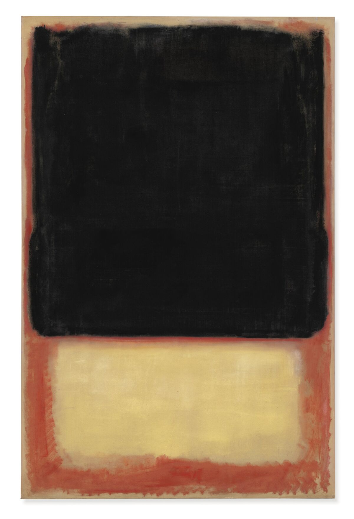 Mark Rothko, No. 7 (Dark Over Light), 1954. Courtesy of Christie's.