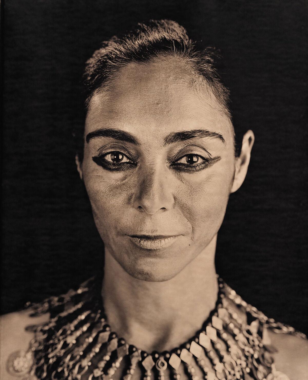 Portrait of Shirin Neshat by Lyle Ashton Harris. Courtesy of Shirin Neshat and Gladstone Gallery, New York and Brussels.