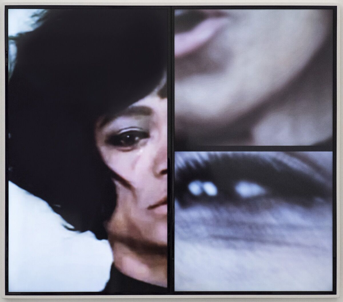 Mickalene Thomas, Angelitos Negros(2016).© Mickalene Thomas / Artist Rights Society (ARS), New York. Image courtesy of the artist and Lehmann Maupin.