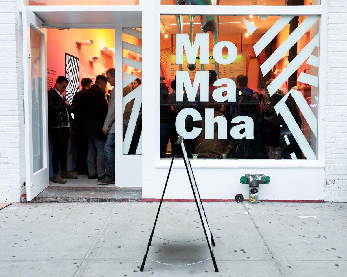 MOMACHA storefront, 2018. Courtesy of MOMACHA.