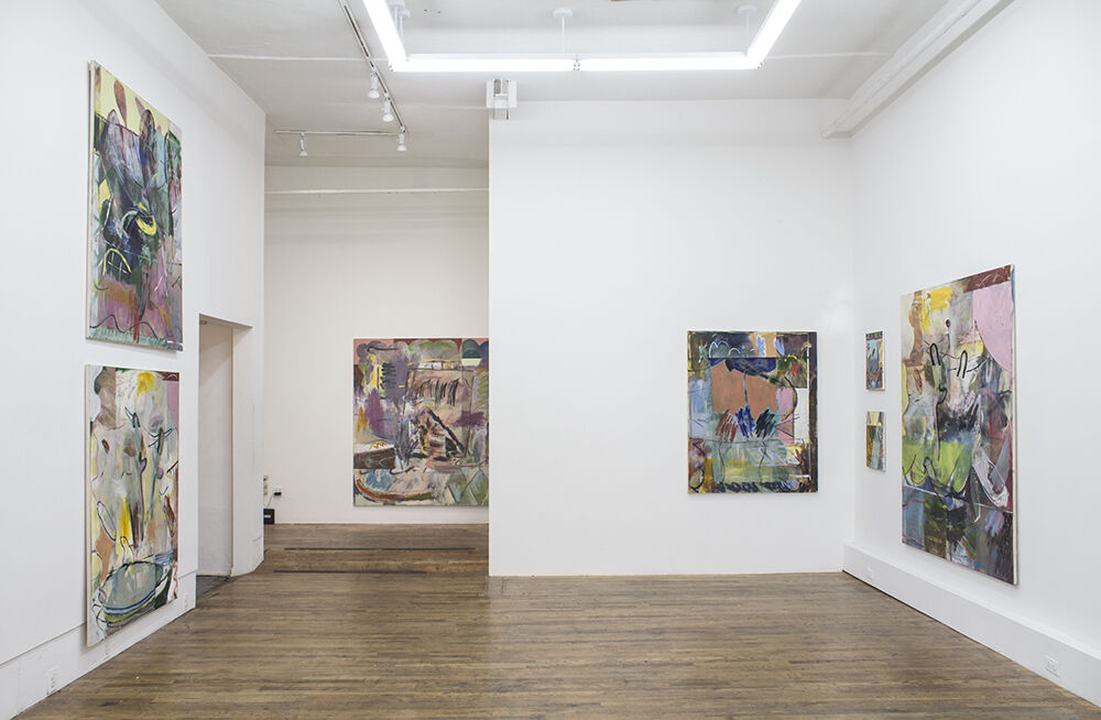 Installation view of Jon Pilkington at 247365, 2016. Photo courtesy of 247365.