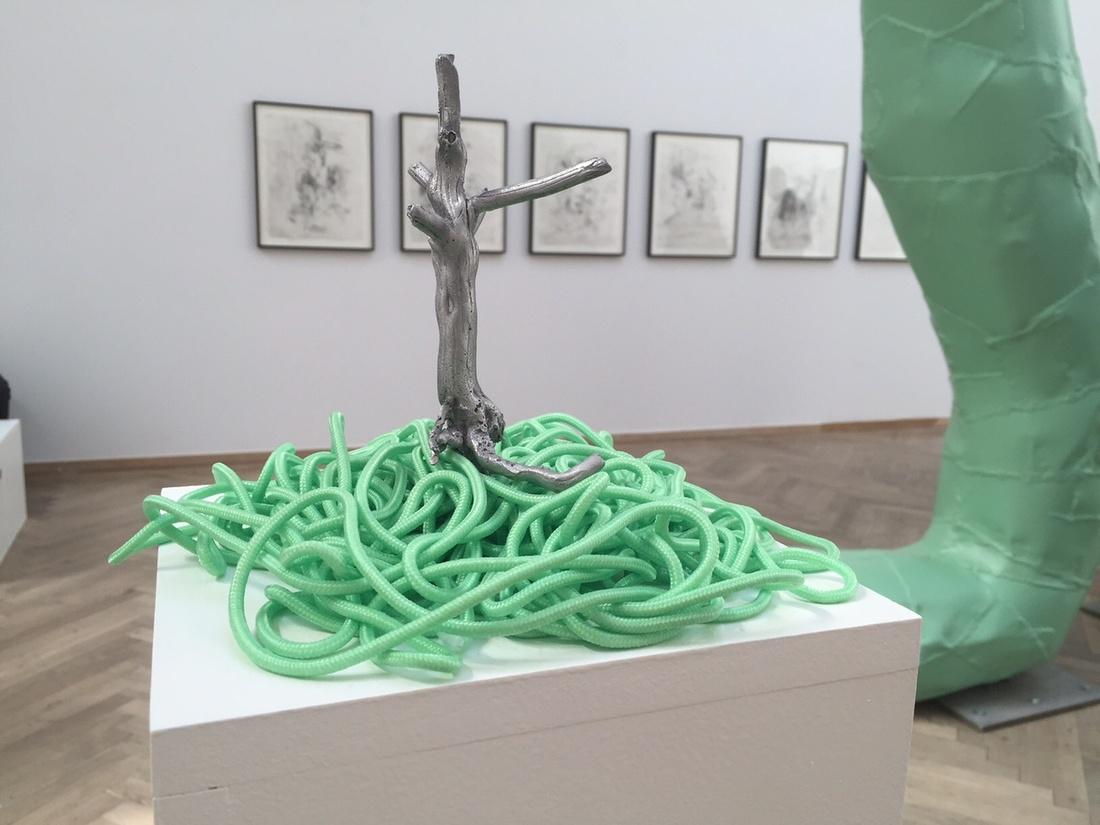 "Installation view of ""Déjà vu"" (2015), courtesy Galleri Susanne Ottesen."