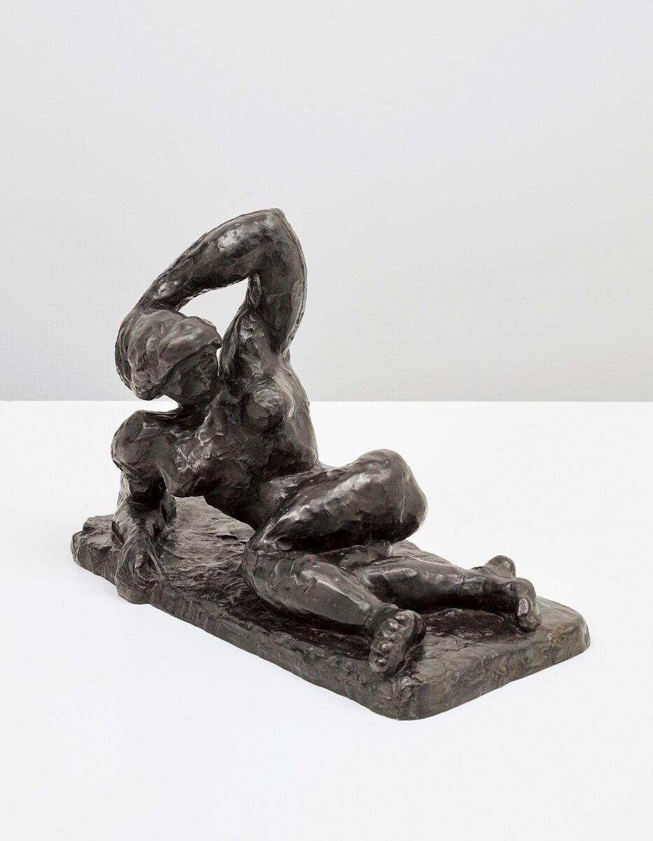 Henri Matisse, Nu allongé I (Aurore), conceived in 1907 and cast ca. 1908. Courtesy of Phillips / Phillips.com.