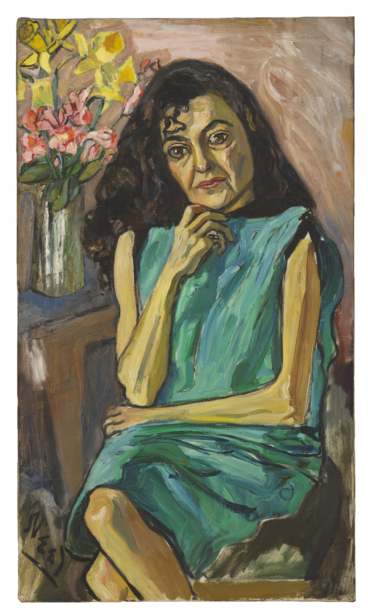 Alice Neel, Spanish Woman, c. 1950.Private Collection, courtesy Robert Miller, New York. © The Estate ofAliceNeel. Courtesy David Zwirner, New York/London and Victoria Miro, London.