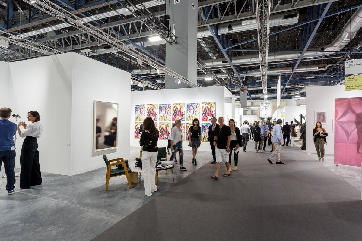 Art Basel in Miami Beach, 2016. Photo by Alain Almiñana for Artsy.