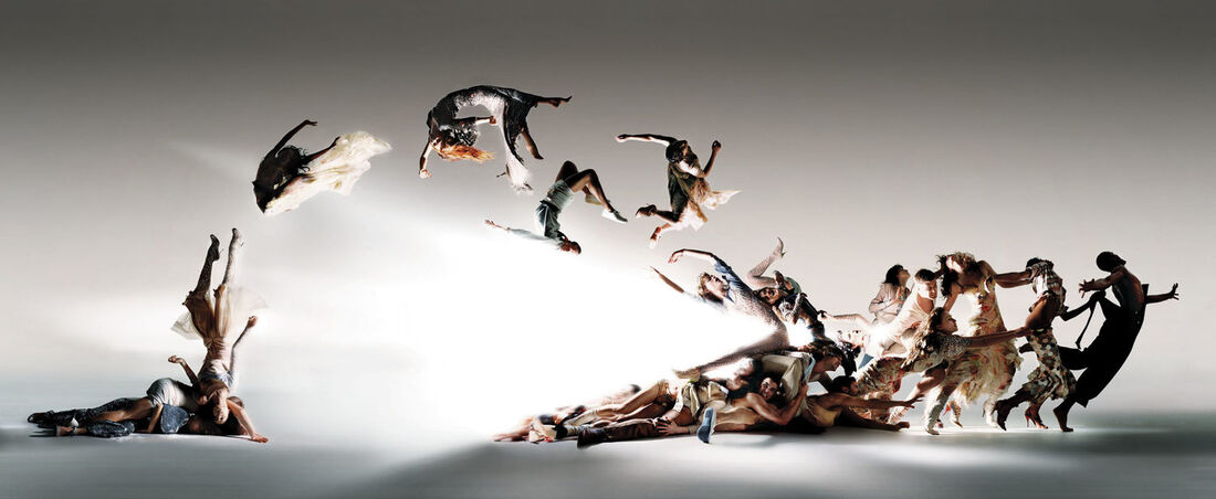 Nick Knight,Blade of Light,2004, Archival Hand-Coated Pigment Print, 30 x 72 inches, Edition of 10. Image courtesy of Nick Knight.