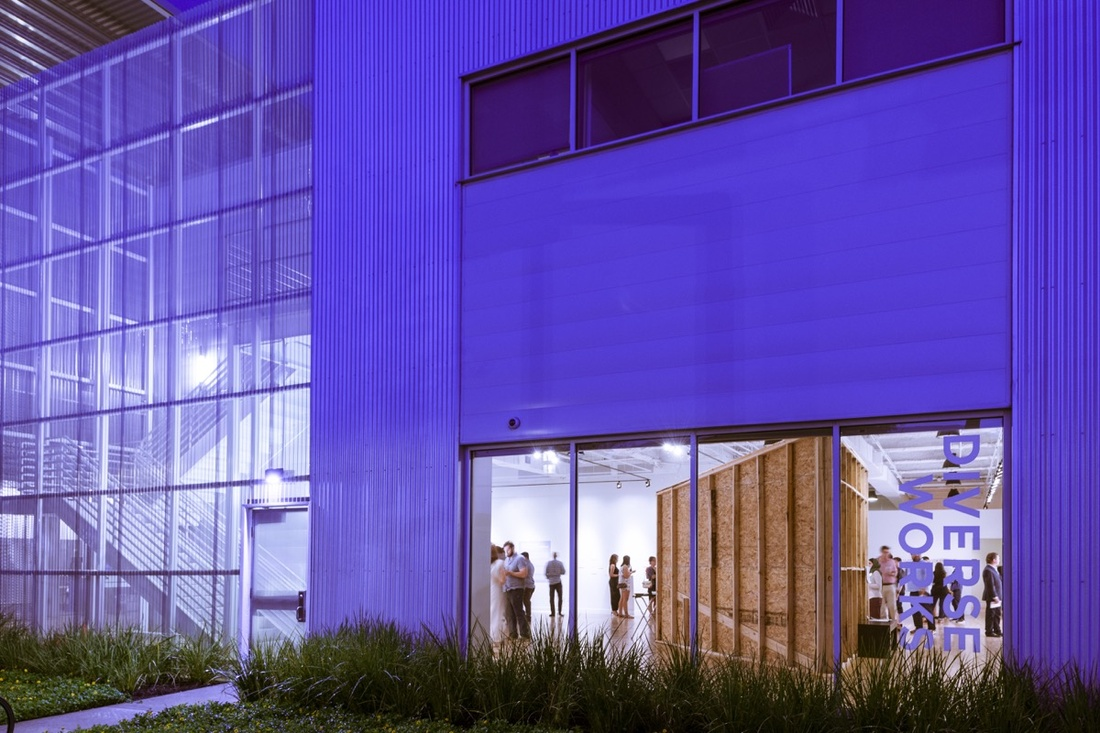 DiverseWorks at Midtown Arts and Theater Center Houston. Photo by Paul Hester. Courtesy of DiverseWorks.