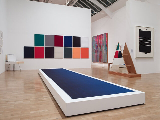 """Adventures of the Black Square,"" Installation View. Courtesy of Whitechapel Gallery. Photo: Stephen White"