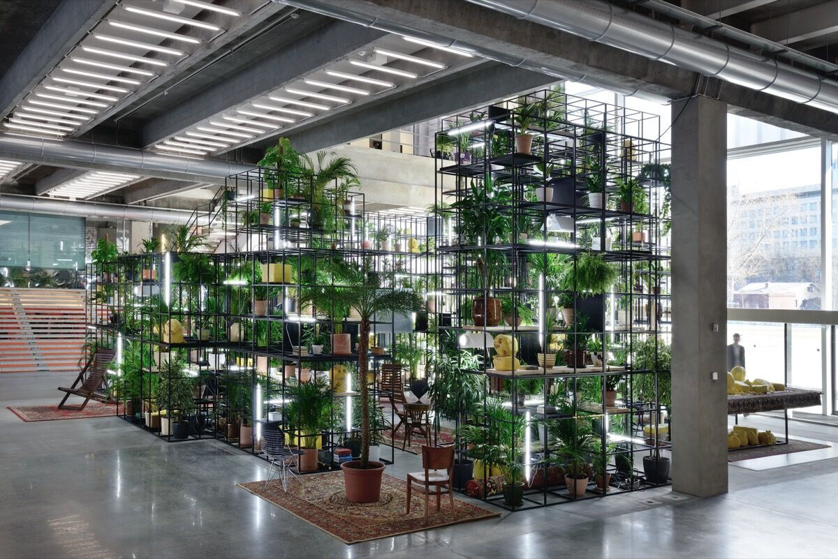 Rashid Johnson,Within Our Gates, 2016. © Rashid Johnson. Image courtesy of Hauser & Wirth.