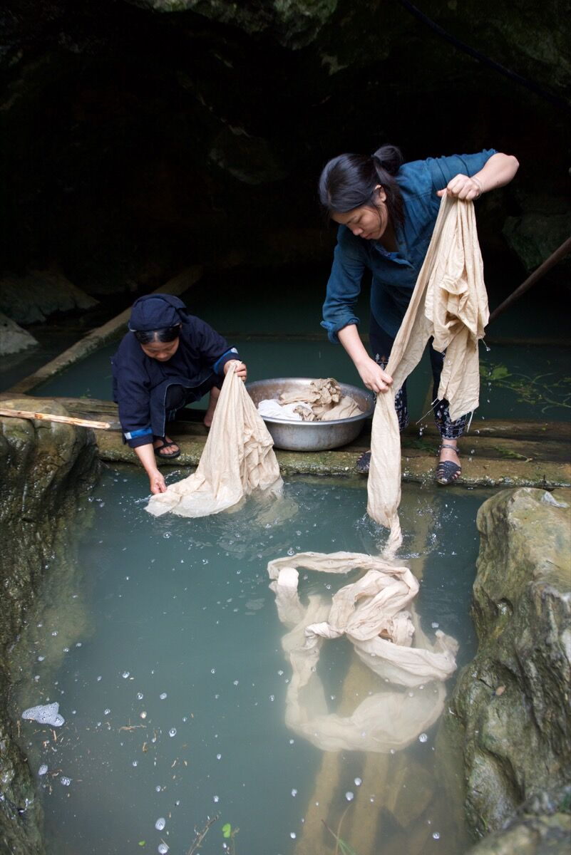 Vu Thao, natural dyeing in Vietnam. Courtesy of VAWAA.