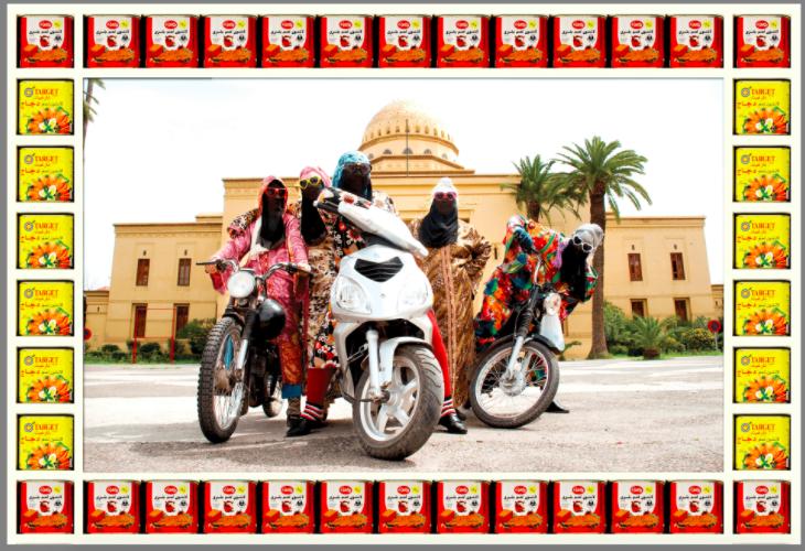 Hassan Hajjaj, Kesh Angels, 2010/1431, Photographic print. Courtesy the artist and Vigo Gallery