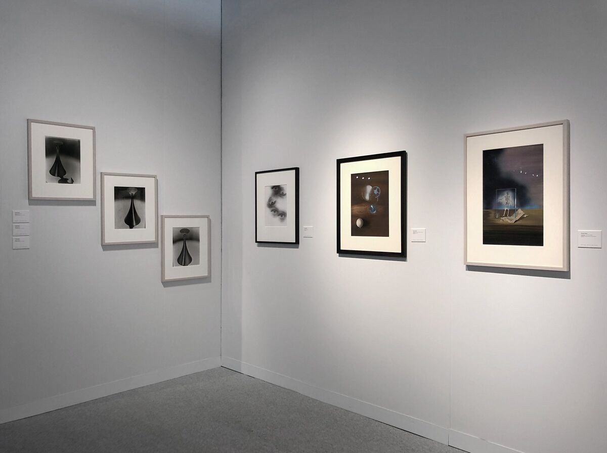 Installation view of Robert Koch Gallery's booth at The Armory Show, New York, 2019. Courtesy of Robert Koch Gallery.