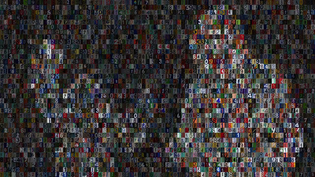 Rafael Lozano-Hemmer,1984x1984, 2015. Courtesy of bitforms gallery.