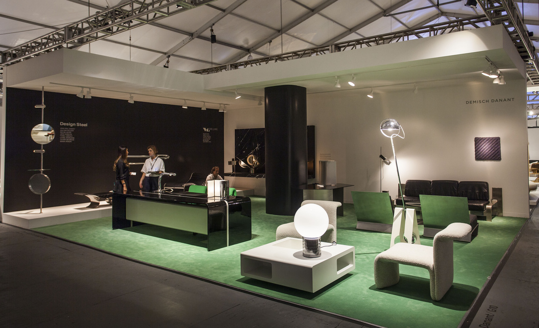 Installation view ofDemisch Danant's booth at Design Miami/ 2015. Photo by Oriol Tarridas for Artsy.